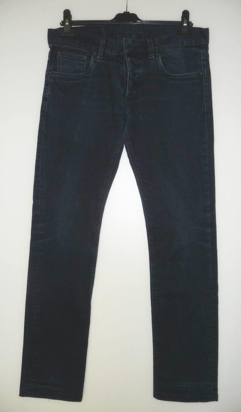 Jeansbroek met knopen