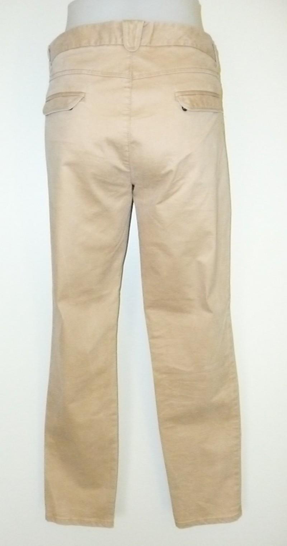 Stretch broek mat nappa-look
