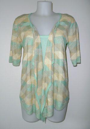 Fijn geweven vestje/bloes