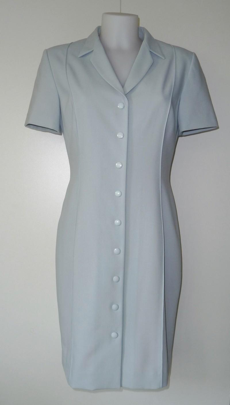 Opvallende (over) jurk/vest met korte mouw