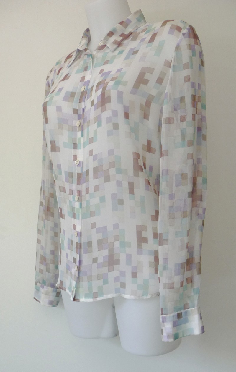 Klassevolle chiffon blouse