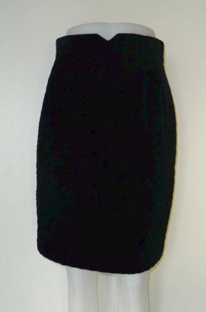 Fluwelen rok (deel van twinset)