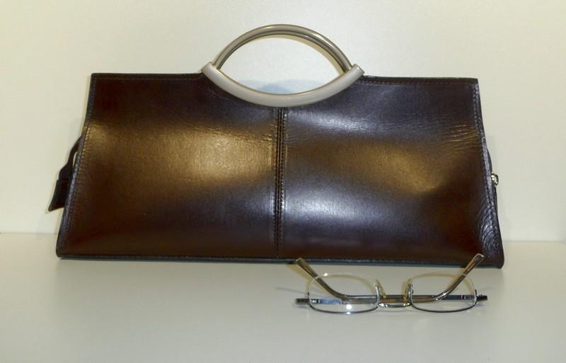 Handtas clutch inox grip