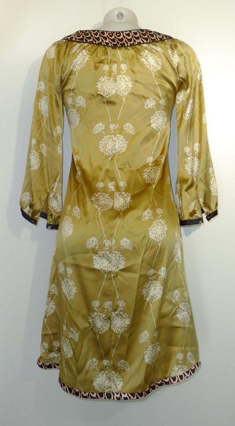Zijden jurk