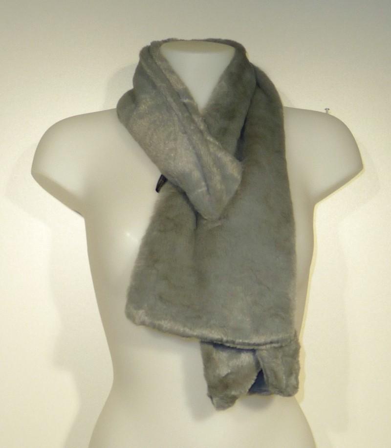 Superzachte doorsteek sjaal