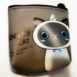 Portemonneetje, Lovely cat met rits