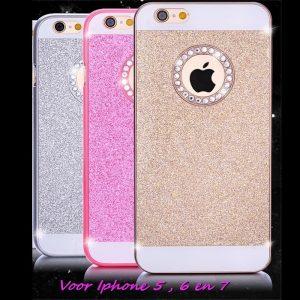 Glitterhoesje voor Iphone