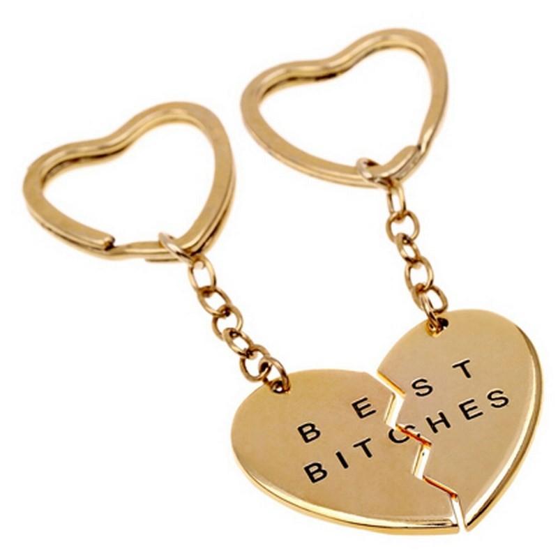 Duo sleutelhanger Best Bitches