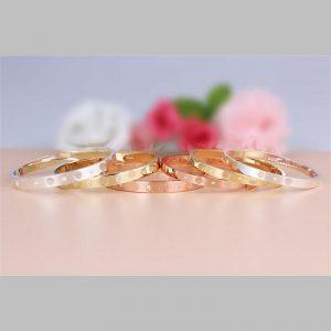 Elegante bangle armband