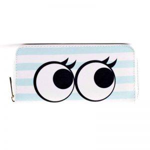 Portemonnee cartoon eyes - Okay