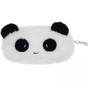 Panda make-up tasje of pennenzakje met rits