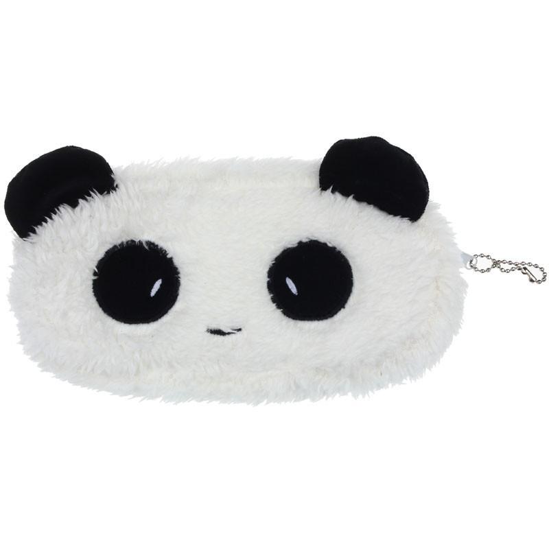 Panda make-up tasje of pennenzakje met rits