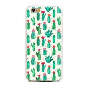 Siliconen GSM hoesje met cactusjes