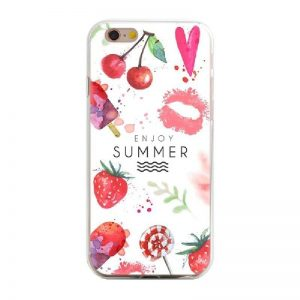 Siliconen GSM hoesje Enjoy Summer !