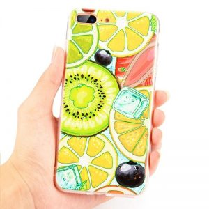 Siliconen plooibaar GSM hoesje Fruit Cocktail