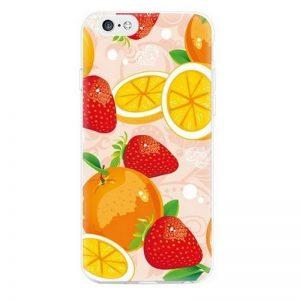 Siliconen GSM hoesje Fruity