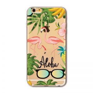 Transparant GSM hoesje Aloha