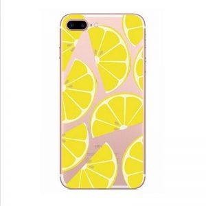 Transparant GSM hoesje Lemon