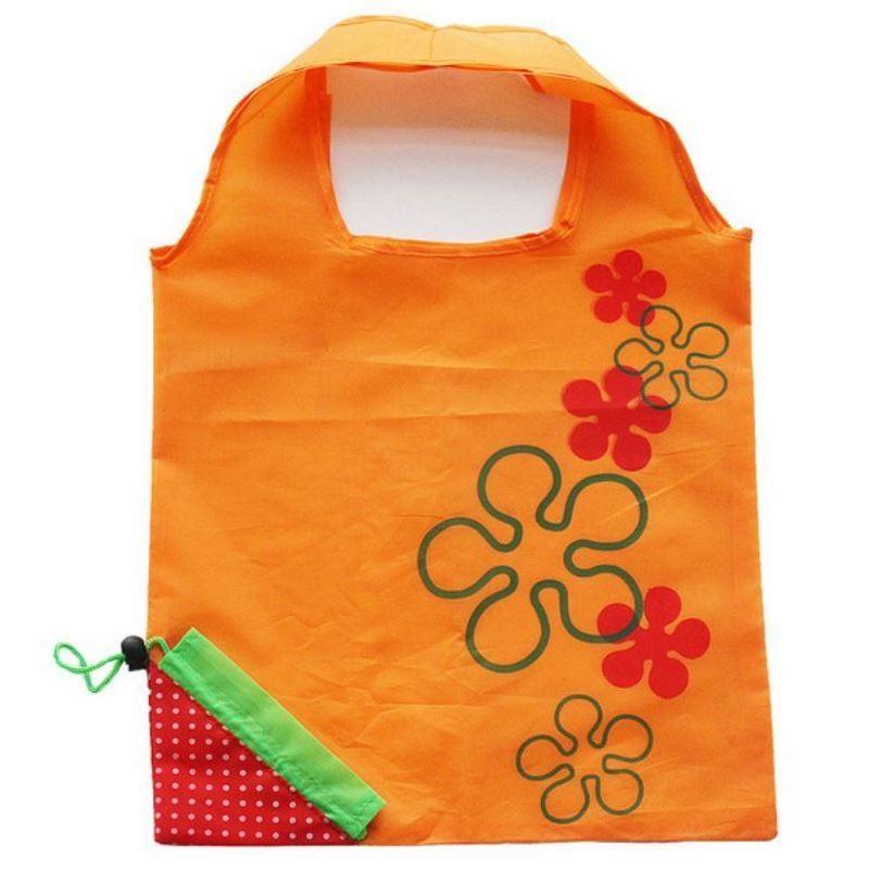 Opvouwbare boodschappentas - shopper Aardbei