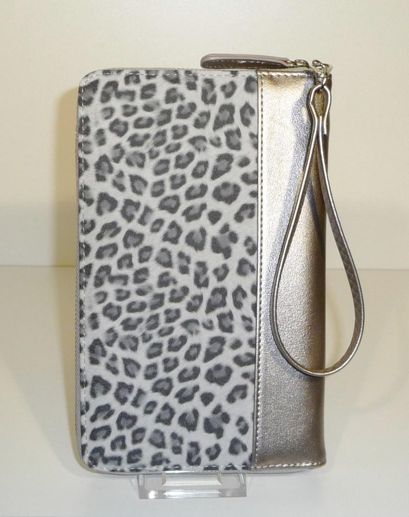XL Portemonnee met luipaardmotief
