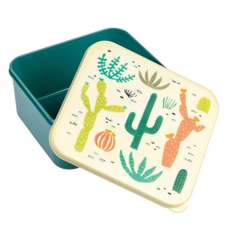 Lunch box met opdrukdeksel