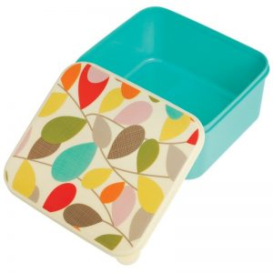 Lunch box met opdrukdeksel