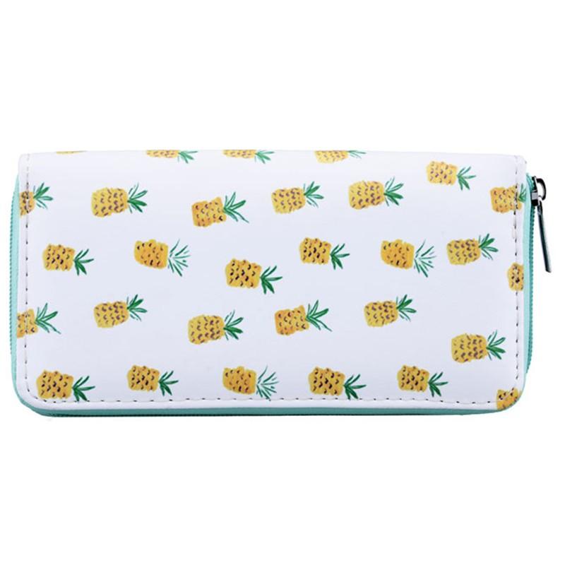 Portemonnee Yellow Pineapples