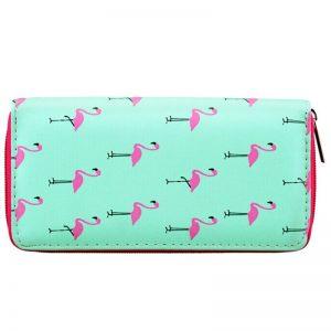 Portemonnee flamingo's