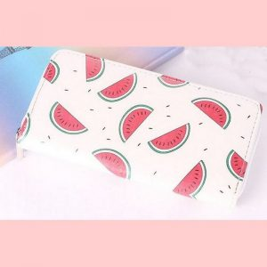 Portemonnee melon slice
