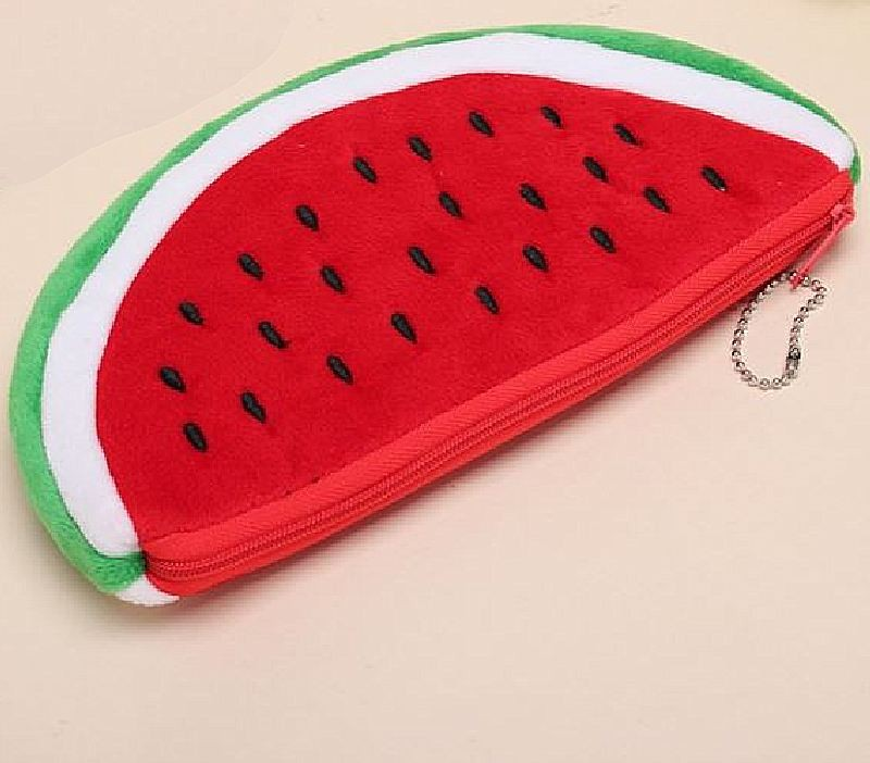 Make-up tasje / pennenzakje watermeloen