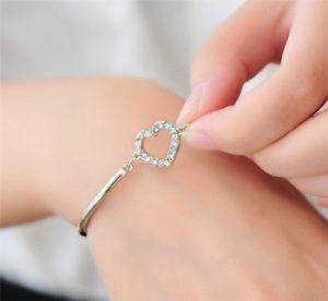 Armband Katy met hartje