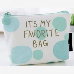 Portemonnee - sleuteltasje It's my favorite bag