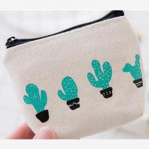 Portemonnee - sleuteltasje Cactus