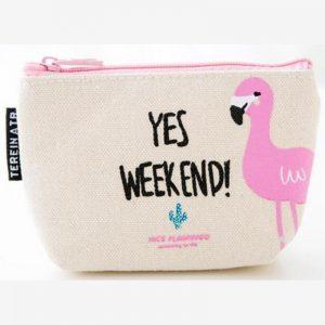 Portemonnee - sleuteltasje Yes weekend !